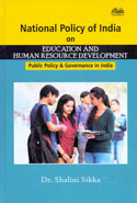National Policy of India on Education and Human Resource Development Public Policy and Governance in India