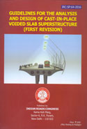 Guidelines for the Analysis and Design of Cast in Place Voided Slab Superstructure IRC:SP:64-2016