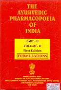 The Ayurvedic Pharmacopoeia of India Part II Volume II