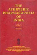 The Ayurvedic Pharmacopoeia of India Part I Volume IV
