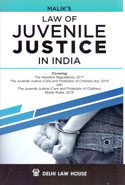 Law of Juvenile Justice in India