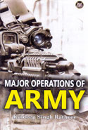Major Operations of Army