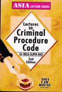 Lectures on Criminal Procedure Code