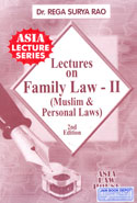 Lectures on Family Law II Muslim and Personal Laws