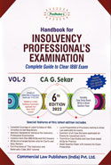 Handbook for Insolvency Professionals Examination Complete Guide to Clear IBBI Exam