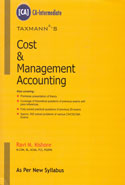Cost and Management Accounting for CA Intermediate