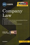 Company Law for CS Executive