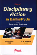 Disciplinary Action in Banks PSUs Including Government Employees