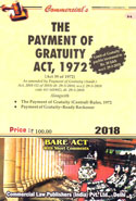 The Payment of Gratuity Act 1972 Bare Act