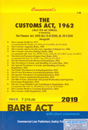 The Customs Act 1962 Bare Act