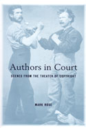Authors in Court Scenes From the Theater of Copyright