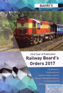 Railway Boards Orders 2017