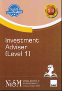 Investment Adviser Level 1 For NISM Certification Examination Work Book X-A