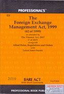 The Foreign Exchange Management Act 1999 Bare Act With Short Comments