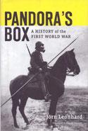 Pandoras Box a History of the First World War