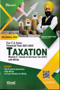 Taxation Module II Goods and Services Tax GST Useful for CA Inter CMA Inter and Other Specialised Studies Financial Year 2017-2018
