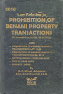 Law Relating to Prohibition of Benami Property Transactions