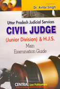 Uttar Pradesh Judicial Services Civil Judge Junior Division and HJS Main Examination Guide