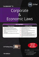 Corporate and Economic Laws for CA Final November 2018 Exam New Syllabus