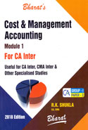 Cost and Management Accounting for CA Inter Group I Paper 3 In 2 Modules