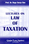 Lectures on Law of Taxation