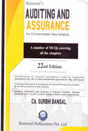 Auditing and Assurance for CA Intermediate New Syllabus