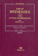 Law of Witnesses and Cross Examination With Model Forms