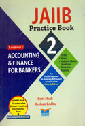 JAIIB Practice Book 2 Accounting and Finance for Bankers