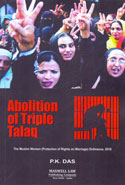 Abolition of Triple Talaq the Muslim Women Protection of Rights on Marriage Ordinance 2018