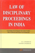 Law of Disciplinary Proceedings in India