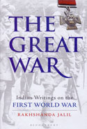 The Great War Indian Writings on the First World War