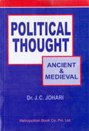 Political Thought Ancient and Medieval Volume I