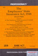 The Employees State Insurance Act 1948 Bare Act With Short Comments