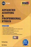 Advanced Auditing and Professional Ethics for CA Final May 2019 Exam New Syllabus
