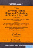 The Juvenile Justice Care and Protection of Children Act 2015 Bare Act With Short Comments