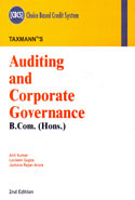 Auditing And Corporate Governance B Com Hons Choice Based Credit System