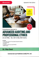Comprehensive Approach to Advanced Auditing and Professional Ethics for CA Final May 2019 Exams and Onwards Applicable for Both Old and New Syllabus In 2 Parts