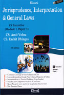 Jurisprudence Interpretation and General Laws for CS Executive New Syllabus Module 1 Paper 1