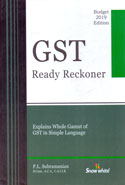 GST Ready Reckoner Explains Whole Gamut of GST in Simple Language