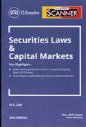 Scanner Securities Laws and Capital Markets for CS Executive June 2019 Exam New Syllabus