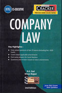 Company Law For CS Executive Dec 2019 Exam New Syllabus