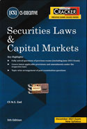 Securities Laws and Capital Markets for CS Executive June 2019 Exam New Syllabus