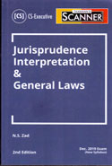 Scanner Jurisprudence Interpretation and General Laws for CS Executive June 2019 Exam New Syllabus