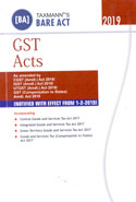 GST Acts Bare Act Pocket Size