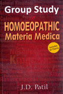 Group Study In Homoeopathic Materia Medica