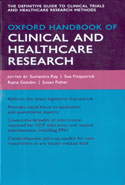 Oxford Handbook of Clinical and Healthcare Research Pocket Size