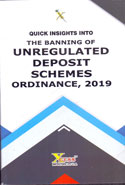 Quick Insights in to The banking of Unregulated Deposit Schemes Ordinance, 2019