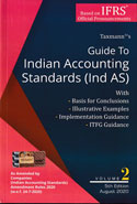 Guide To Indian Accounting Standards Ind AS Set of Two Volumes