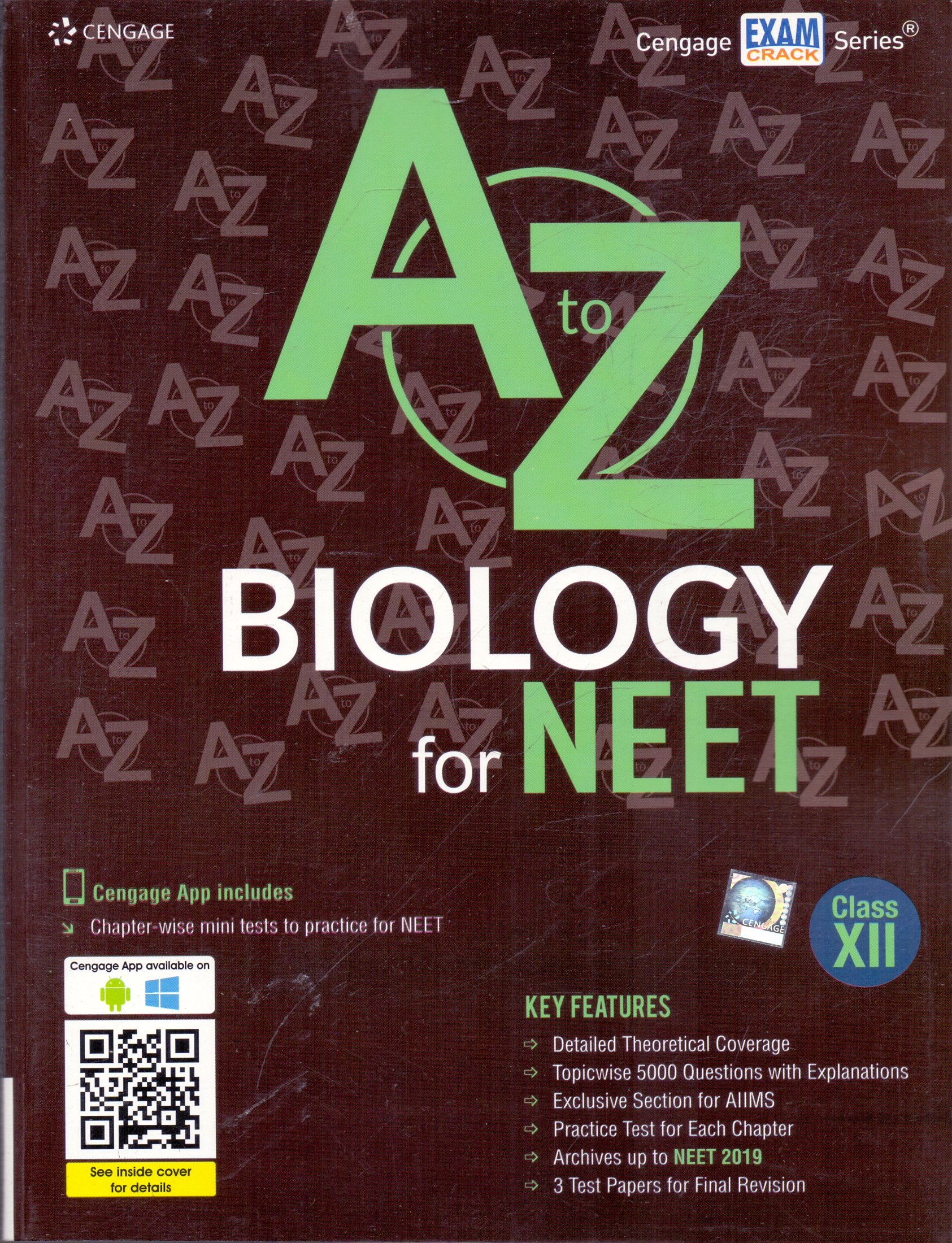 A to Z Biology for NEET  Class XII