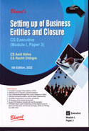 Setting up of Business Entities & Closure by Cs Executive Module I Paper 3